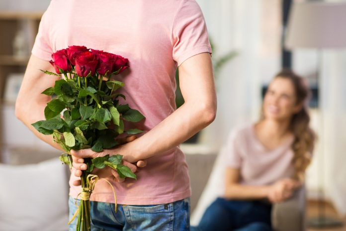 Roses in 7 Stages of Love and Romance