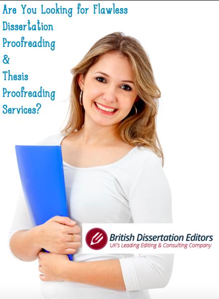 thesis proofreading uk